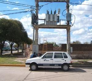 Instalación en Subestación Transformadora